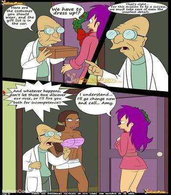 Futurama - Christmas Delivery6 free sex comic