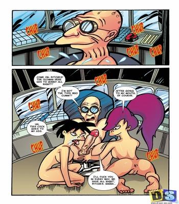 Futurama- The Desire to Fuck free Cartoon Porn Comic