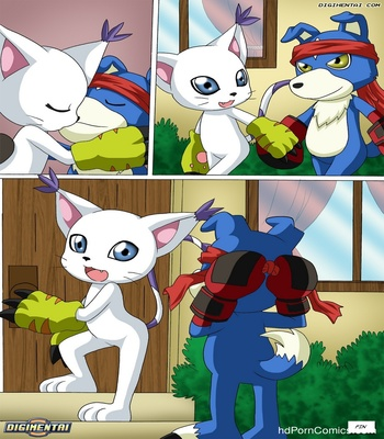 Gatomon In Heat 2 Sex Comic
