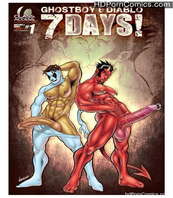 Porn Comics - Ghostboy And Diablo – 7 Days Sex Comic