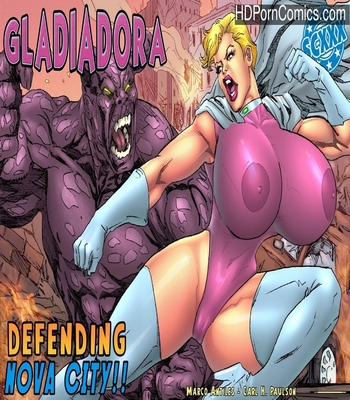 Porn Comics - Gladiadora – Defending Nova City Sex Comic