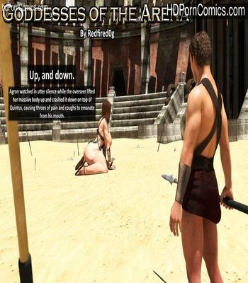 Porn Comics - Goddesses Of The Arena 2 Sex Comic