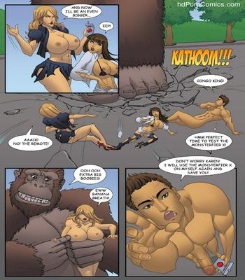 Goddesszilla 1 12 free sex comic