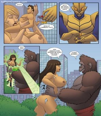 Goddesszilla 1 20 free sex comic
