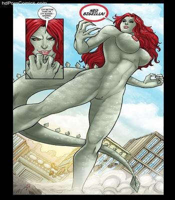 Goddesszilla 3 Sex Comic sex 19