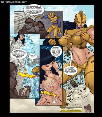 Goddesszilla 3 Sex Comic