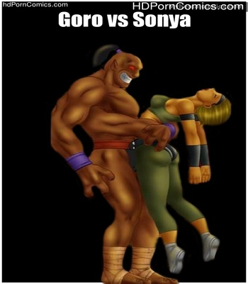 Porn Comics - Goro vs Sonya Sex Comic