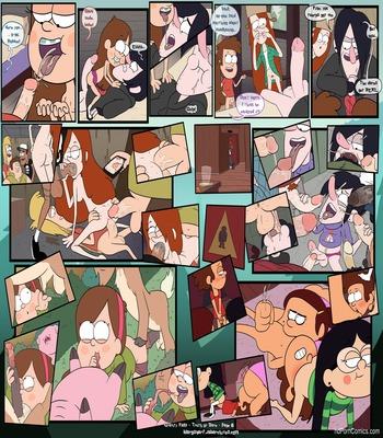 Gravity falls- truth or dare free Cartoon Porn Comic sex 7