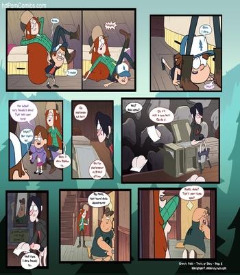 Gravity Falls – Truth Or Dare Sex Comic sex 3