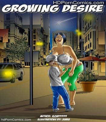 Porn Comics - Growing Desire