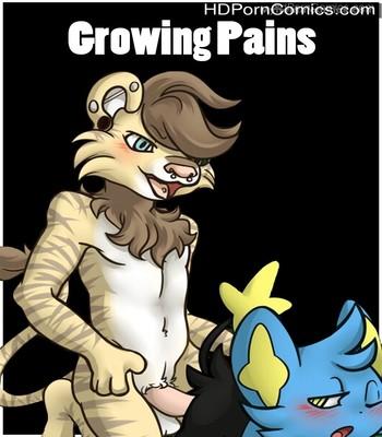 Porn Comics - Growing Pains Sex Comic