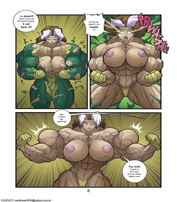 Growth Queens 2 – Never Enough Sex Comic sex 8
