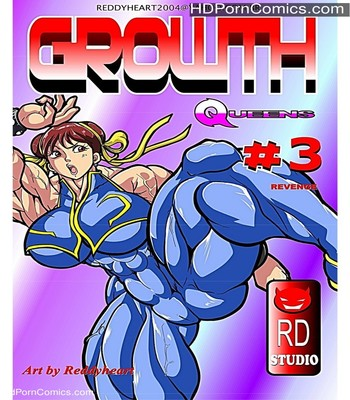 Porn Comics - Growth Queens 3 – Revenge Sex Comic