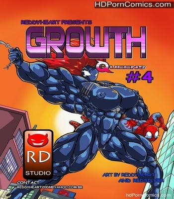 Porn Comics - Growth Queens 4 Sex Comic