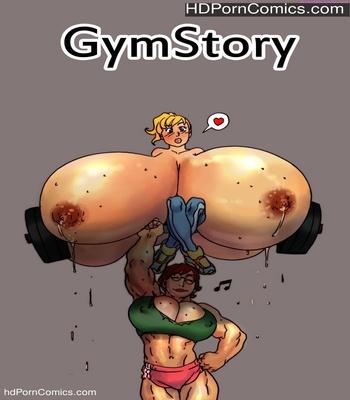 Porn Comics - Gym Story Sex Comic
