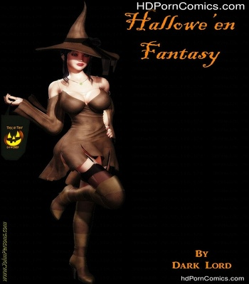 Porn Comics - Hallowen Fantasy Sex Comic