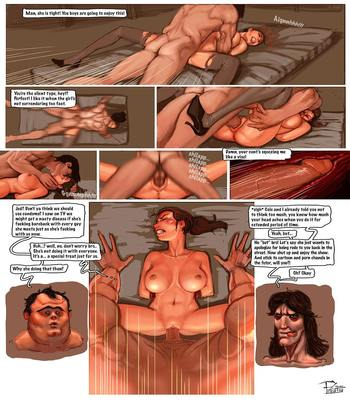 Hard Sex with a Brunette3 free sex comic