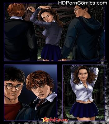 Porn Comics - Harry Potter-Hermione In A Dark Forest free Cartoon Porn Comic