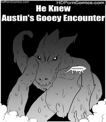 Porn Comics - He Knew – Austin's Gooey Encounter Sex Comic