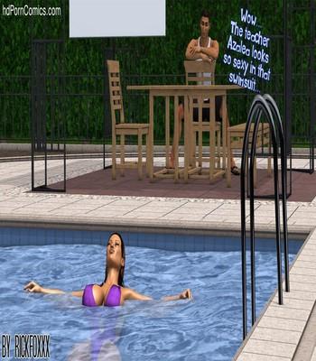 Heavenly Pool Lesson 19 free sex comic