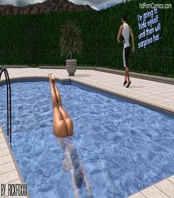 Heavenly Pool Lesson 20 free sex comic