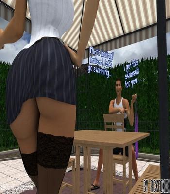 Heavenly Pool Lesson 4 free sex comic