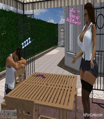 Heavenly Pool Lesson 7 free sex comic