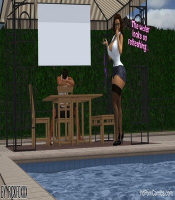 Heavenly Pool Lesson 9 free sex comic