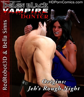 Porn Comics - Helen Black Vampire Hunter 1 – Jeh's Rough Night Sex Comic