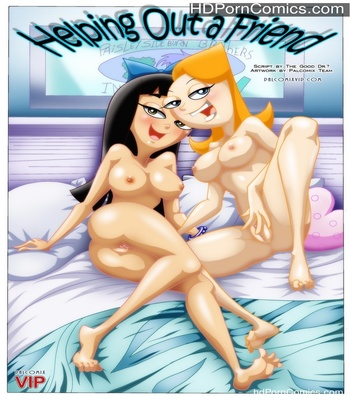 Porn Comics - Helping Out A Friend Sex Comic