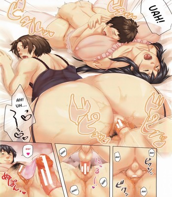 Hentai-Son Swapping free Porn Comic sex 3