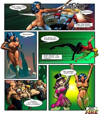 Hipersex Arena 1 – Water Sex Comic