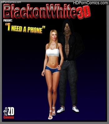Porn Comics - I Need A Phone Sex Comic