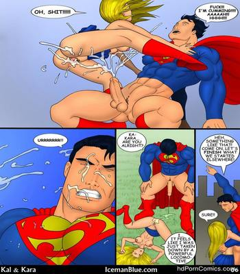 Iceman Blue- Superman — Kal & Kara7 free sex comic