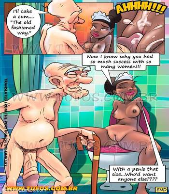 Familia Sacana 07 – ( Giving Grandpa a Bath ) free Porn Comic