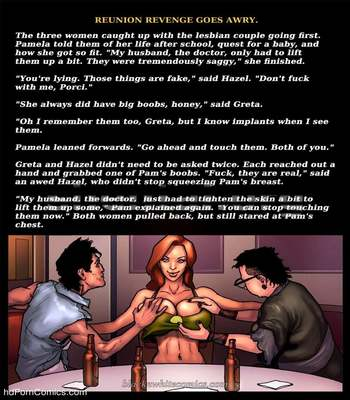 Interracial - Reunion Revenge Goes Awry10 free sex comic