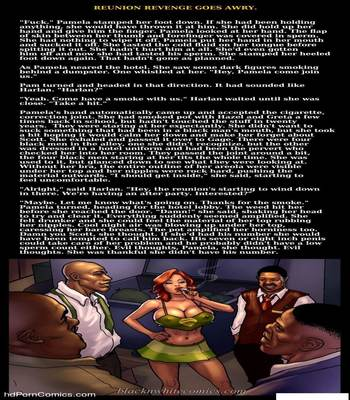 Interracial - Reunion Revenge Goes Awry18 free sex comic