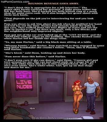 Interracial - Reunion Revenge Goes Awry60 free sex comic