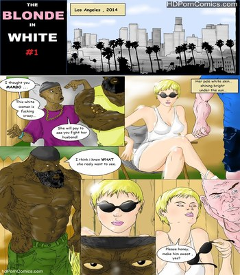 Porn Comics - Interracial- Blonde in White free Cartoon Porn Comic