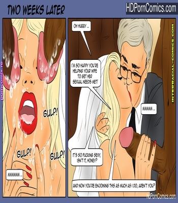 Interracial- Wedding surprise free Cartoon Porn Comics