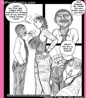 Interracial-Home Instruction 1-3 free Porn Comic sex 32