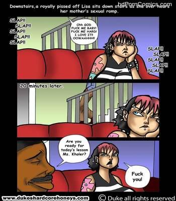 Interracial-Home Instruction 1-3 free Porn Comic sex 5