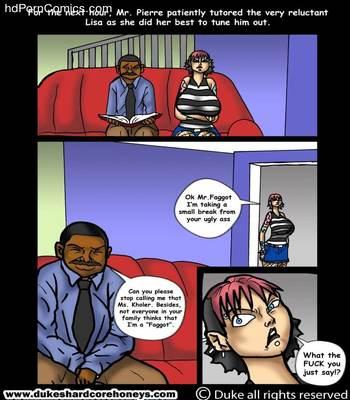 Interracial-Home Instruction 1-3 free Porn Comic sex 6