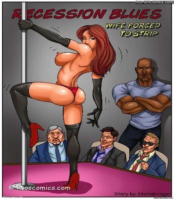 Porn Comics - Interracial-KaosComics- Wife Force To Strip free Porn Comic