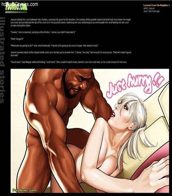 Interracial-Poonnet- Lessons From The Neighbor 3-4 free Porn Comic sex 30