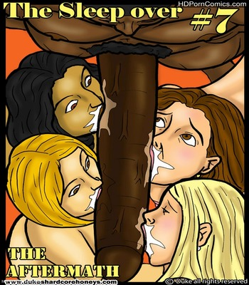 Porn Comics - Interracial-The Sleepover 7 free Porn Comic