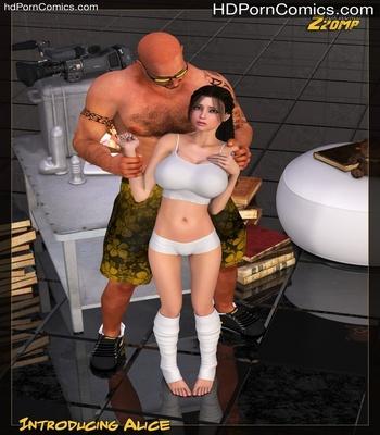 Porn Comics - Introducing Alice Sex Comic