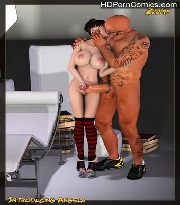 Porn Comics - Introducing Angela Sex Comic