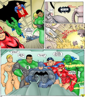 JLA Sex Comic sex 13