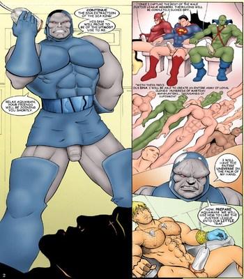 JLA Sex Comic sex 3